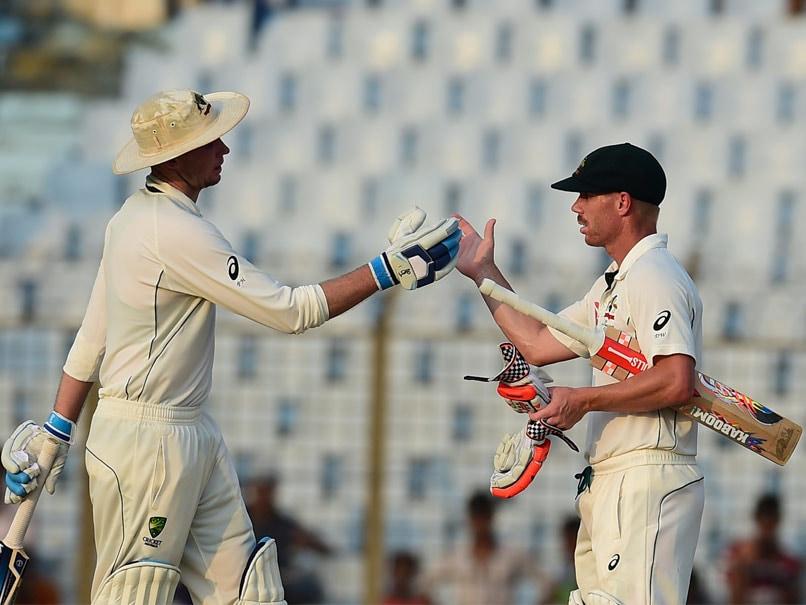 2nd Test: David Warner, Peter Handscomb Give Australia Momentum vs Bangladesh
