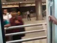 Delhi Metro Briefly Runs With A Door Open