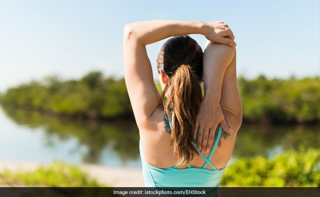 desk exercises for stressful days