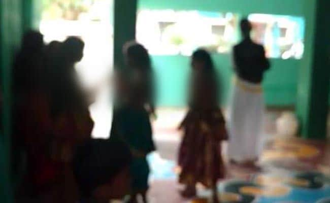 Bare-Chested Girls In Madurai Temple Ritual, 'Worshipped' Like Goddesses