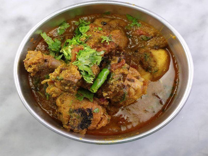 Dhaba Style Chicken Recipe Ndtv Food