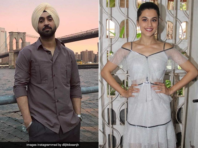 Diljit Dosanjh And Taapsee Pannu To Co-Star In Sandeep Singh Biopic: Reports