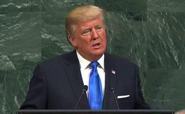 अमेरिकी राष्ट्रपति डोनाल्ड ट्रंप ने कहा, अमेरिका उत्तर कोरिया को पूरी तरह बरबाद कर सकता है