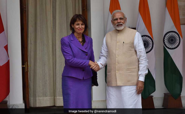 Committed To Support India's Fight Against Black Money: Swiss President