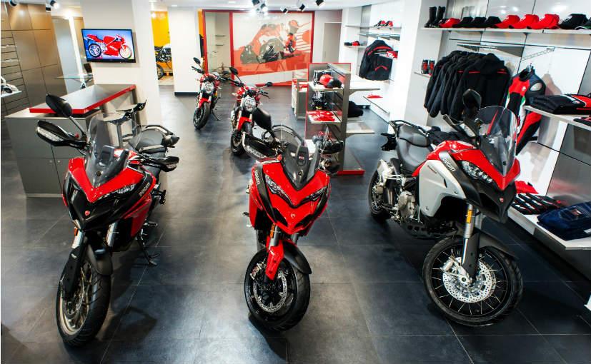 Ducati Inaugurates New Showroom - 72.6KB