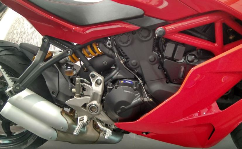 ducati supersport engine