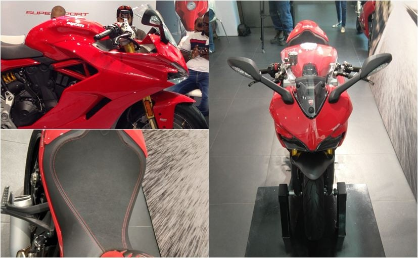 ducati supersport features
