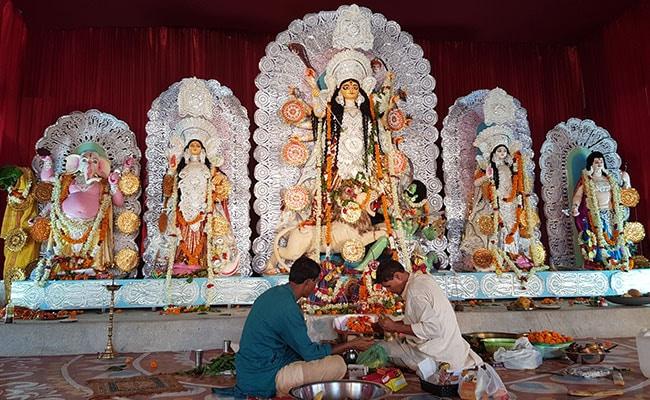 durga puja cr park delhi ndtv