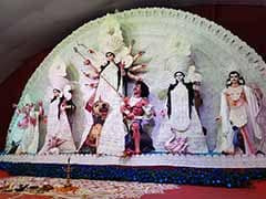 Durga Pujo In Delhi With A Tinge Of Green