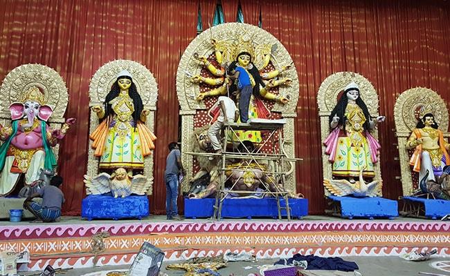 durga puja pandal cr park delhi ndtv