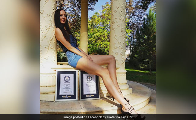 Russian Model With World's Longest Legs Breaks Guinness Record