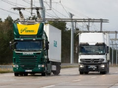 Germany Will Soon Get An Electrified Highway For Trucks