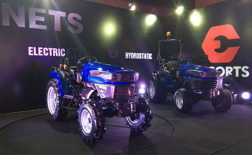 Escorts unveiled its new range of tractors called the New Escorts Tractor Series