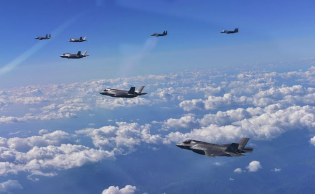US Heavy Bombers, Jets In Show Of Force Against North Korea
