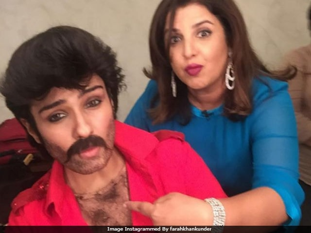 Who is Anil Kapoor's doppelganger in Farah Khan's latest pic?