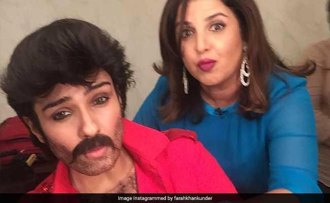फराह खान के शो में पहुंचे अनिल कपूर.. नहीं नहीं, यह तो कोई और है !