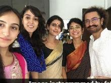 Eid Mubarak, From <i>Thugs</i> Aamir Khan And Fatima Sana Shaikh