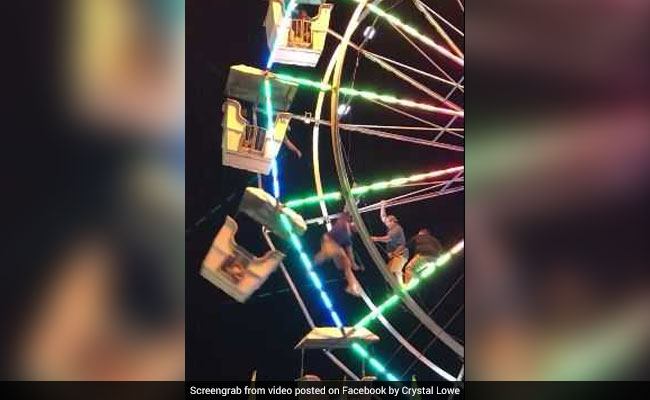 Video: Worker Climbs Ferris Wheel To Rescue Children. It Goes Horribly Wrong