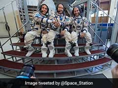 Three Astronauts Blast Off For Five-Month ISS Mission