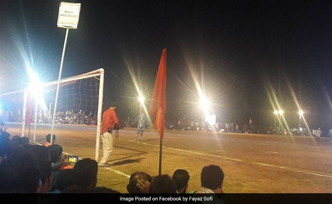 20,000 Turn Up For Football Match Near Line of Control: Official