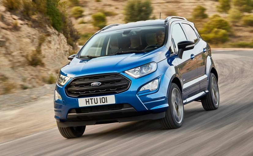 ford ecosport st line model face