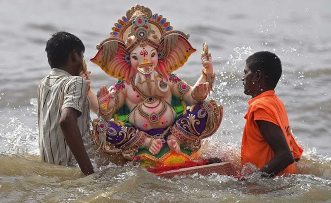Ganesh Visarjan: 40,000 Cops, Drones To Keep An Eye On Mumbai