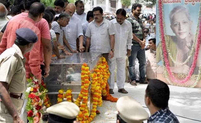 State Funeral, Candlelight Vigils For Journalist Gauri Lankesh Amid Outrage Over Her Murder
