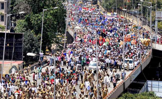 Massive March For Gauri Lankesh In Bengaluru Was Congress Sponsored: BJP