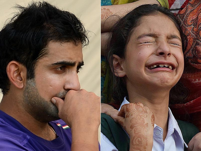Kashmir Martyr's daughter Zohra thanks Gautam Gambhir for his wonderful gesture