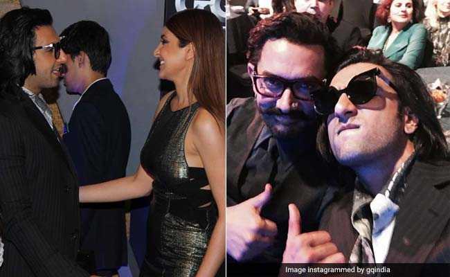 GQ Awards: जब रणवीर सिंह Met अनुष्का शर्मा और आमिर खान