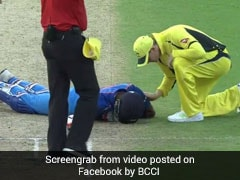 Watch: Close Shave For Hardik Pandya As Bhuvneshwar Kumar Shot Floors Him