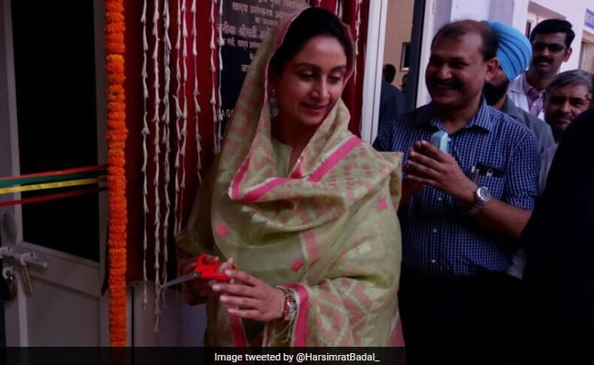 Harsimrat Kaur Badal Inaugurates Food Processing Lab At IGNOU