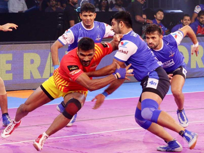Pro Kabaddi League: Haryana Steelers End Gujarat Fortunegiants' Winning Run