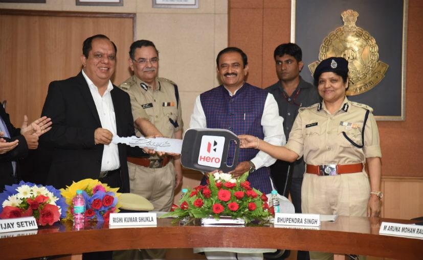 hero motocorp bhopal police