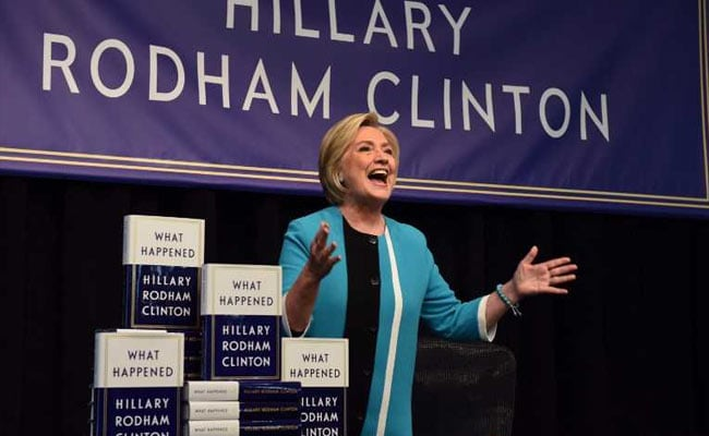 Hillary Clinton Trolls US President Trump, Suggests He Read Children's Book
