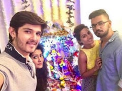 Ganesh Chaturthi 2017: Inside Hina Khan And Rohan Mehra's Ganpati Celebrations