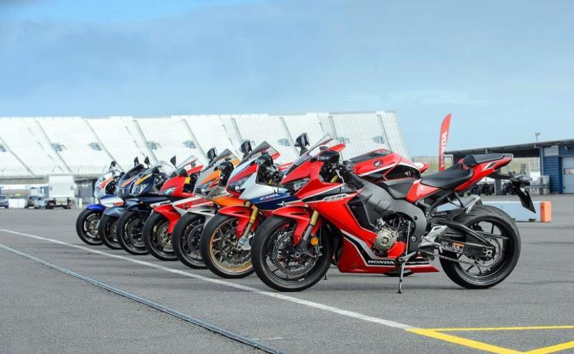 Currently Honda offers the CBR1000RR Fireblade and CBR1000RR Fireblade SP versions