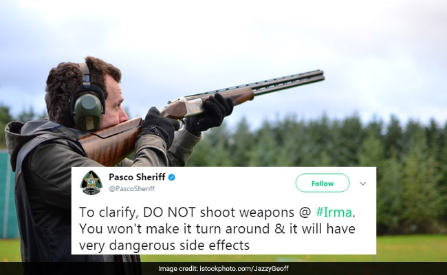 'Don't Shoot At Irma' Warns Florida Police After Facebook Event Goes Viral