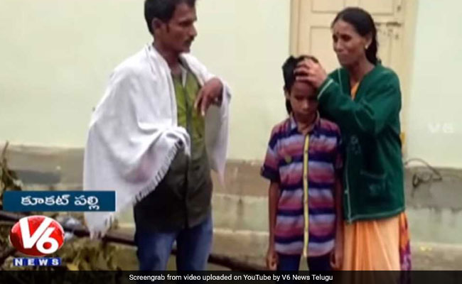 Hyderabad Woman Spends Night On Street With Son's Body