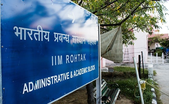 IIM Rohtak To Conduct Common Admission Process For Nine IIMs