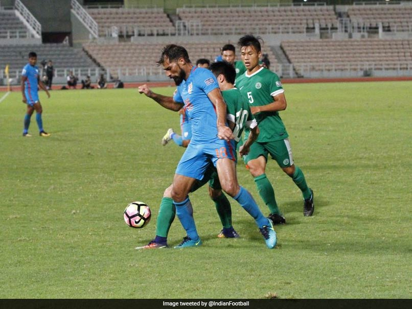 Balwant Singh Brace Helps India Outclass Macau 2-0 In Asian Qualifier