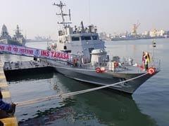 भारतीय नौसेना के बेड़े में शामिल युद्धपोत तरासा