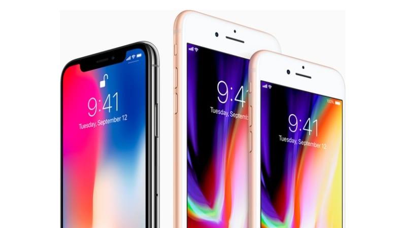 iPhone 8, iPhone 8 Plus और iPhone X की भारत में कीमत