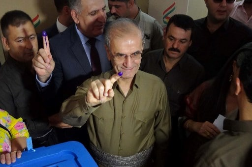 iraqi kurds to caste their vote
