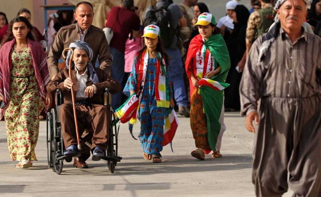 Iraqi Kurds Vote In Historic Independence Referendum, Shrugging Off Threats