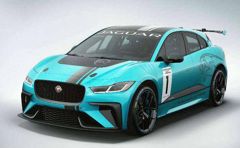 Jaguar I-Pace eTrophy race vehicle  previews new EV race series