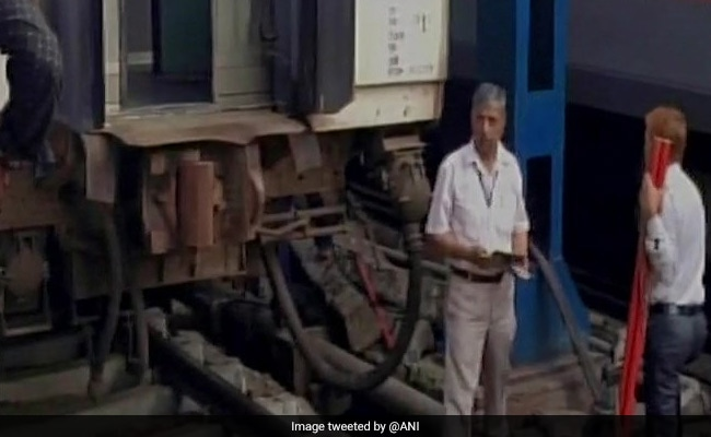 Rajdhani Express Coach Derails In New Delhi, No Injuries Reported