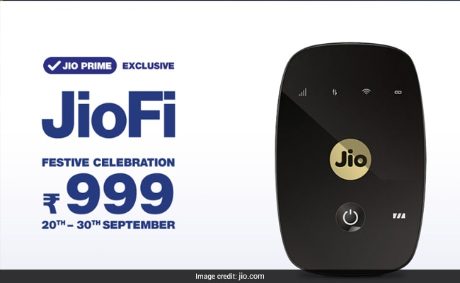 Jio's New Offer: JioFi Price Slashed By Half. Details Here