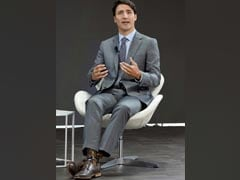 Justin Trudeau's Socks Are Breaking The Internet. Seen Them Yet?