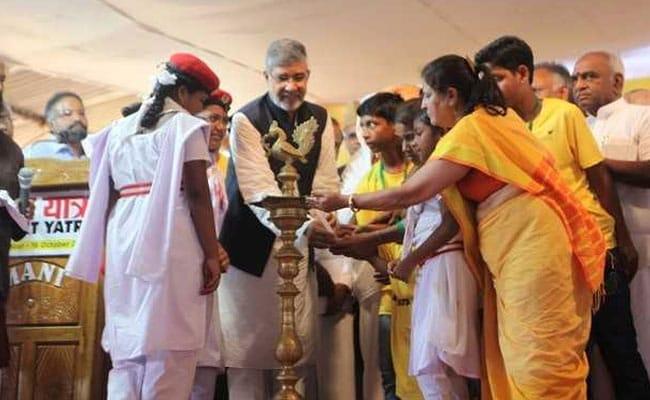Survivors Join Nobel Laureate Kailash Satyarthi's 'Bharat Yatra' Against Child Abuse